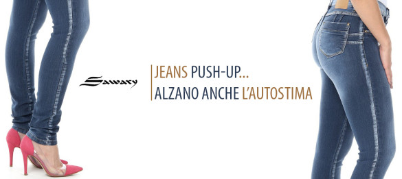 jeans push-up brasiliani Sawary